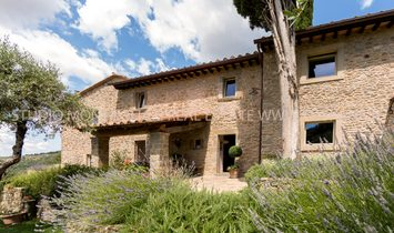 Typical Tuscan farmhouse with pool and fantastic views