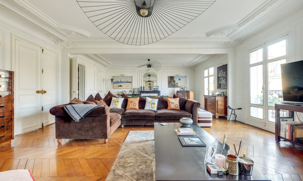 Luxury Apartment In Paris 17th   Wagram   Courcelles