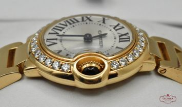 Cartier Ballon Bleu Ladies Rose Gold