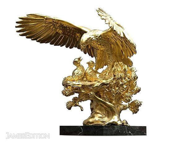 Golden Eagle Nest Sculpture ANATOLIOS (10895028)