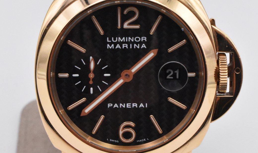Panerai Luminor Marina Automatic Yellow Gold