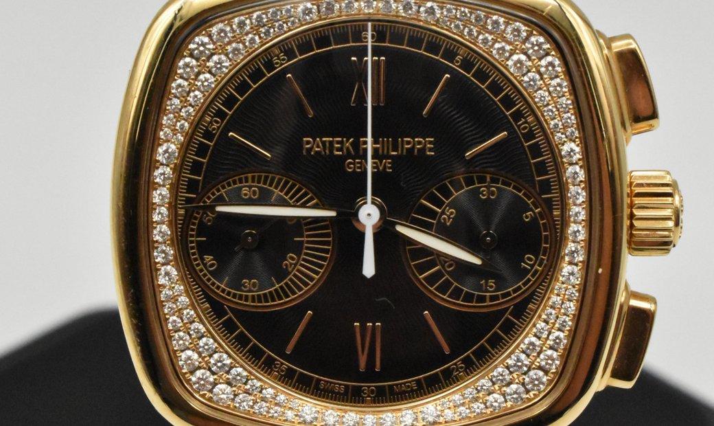 Patek Philippe Ladies Complications Chronograph Rose Gold