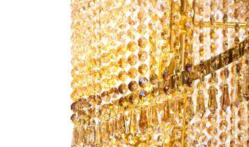 Crystal Chandelier Floor Lamp KADDOUR