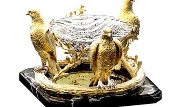 Luxury Decorative Crystal Bowl AGAUE