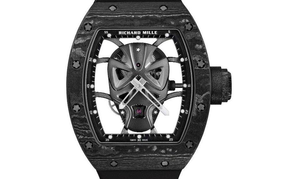 Richard Mille [NEW] RM 52-06 Mask Black Carbon Tourbillon