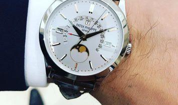 Patek Philippe [NEW] Grand Complications Platinum Perpetual Calendar 5496P-015