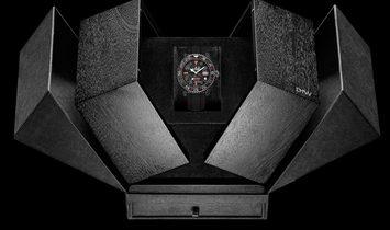 """Rolex DiW NTPT Carbon GMT-Master II """"SPEEDSTER GMT"""" (Retail: US$38,990)"""