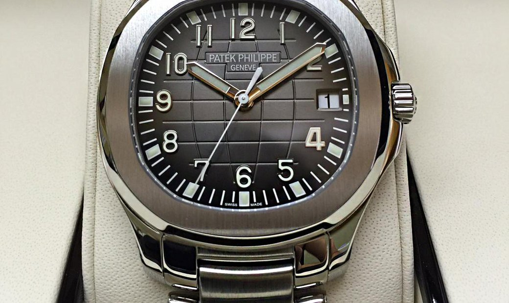Patek Philippe NEW Aquanaut Black Dial Stainless Steel Mens 5167/1A
