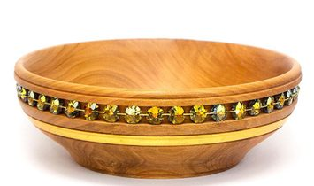Luxury Wooden Crystal Serving Bowls AMESTRIS