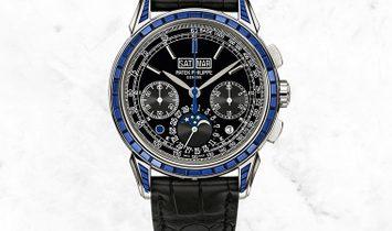 Patek Philippe Perpetual Calendar 5271/11P Blue Sapphires