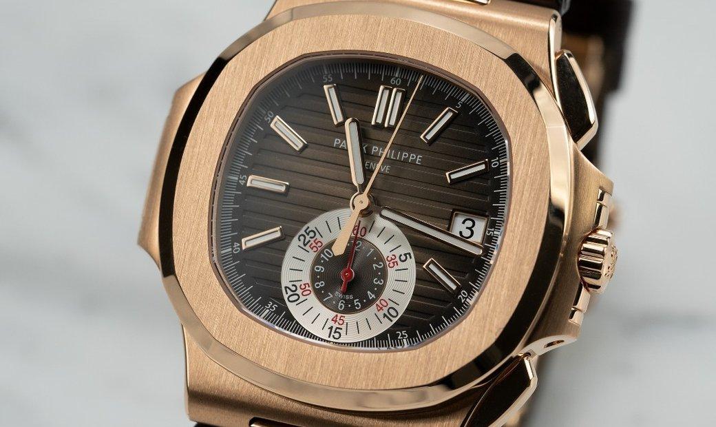 Patek Philippe Nautilus 5980R Rose Gold