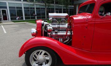 1934 Chevrolet 3 Window