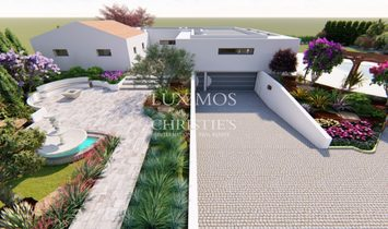 Sale of new contemporary villa with pool in Loulé, Algarve, Portugal