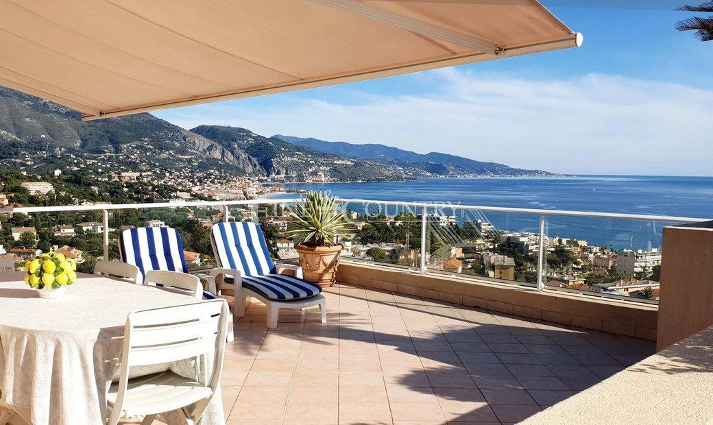 Sale - Penthouse Roquebrune-Cap-Martin