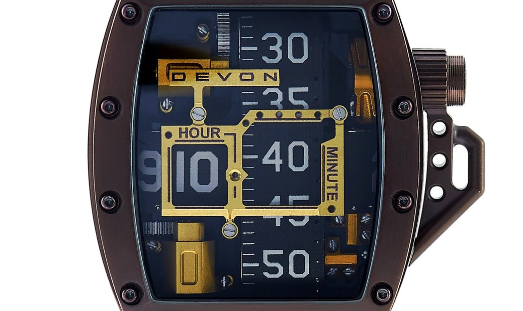 Devon Devon Tread 2 Godiva Watch 847339004572
