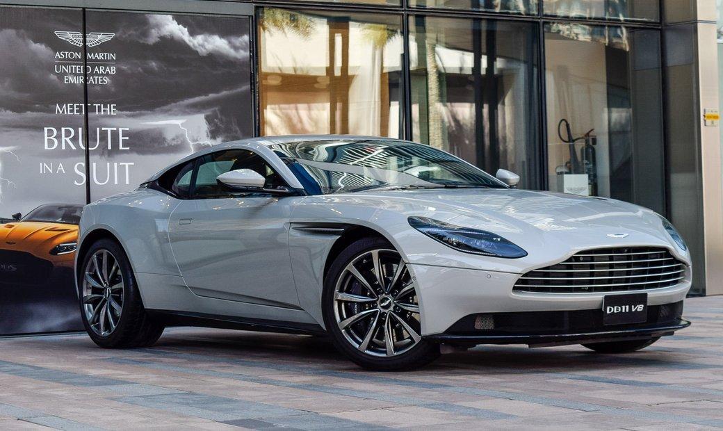 2018 Aston Martin DB11 rwd