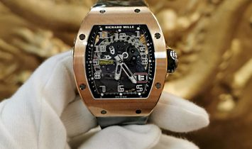 Richard Mille NEW RM 029 Rose Gold Automatic Mens Watch