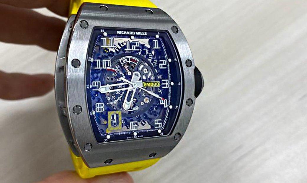 Richard Mille RM 030 Titanium Automatic Watch