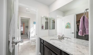 This Beautiful 4 Bedroom, 5 Bathrooms Modern Home Boasts An Open Floorplan