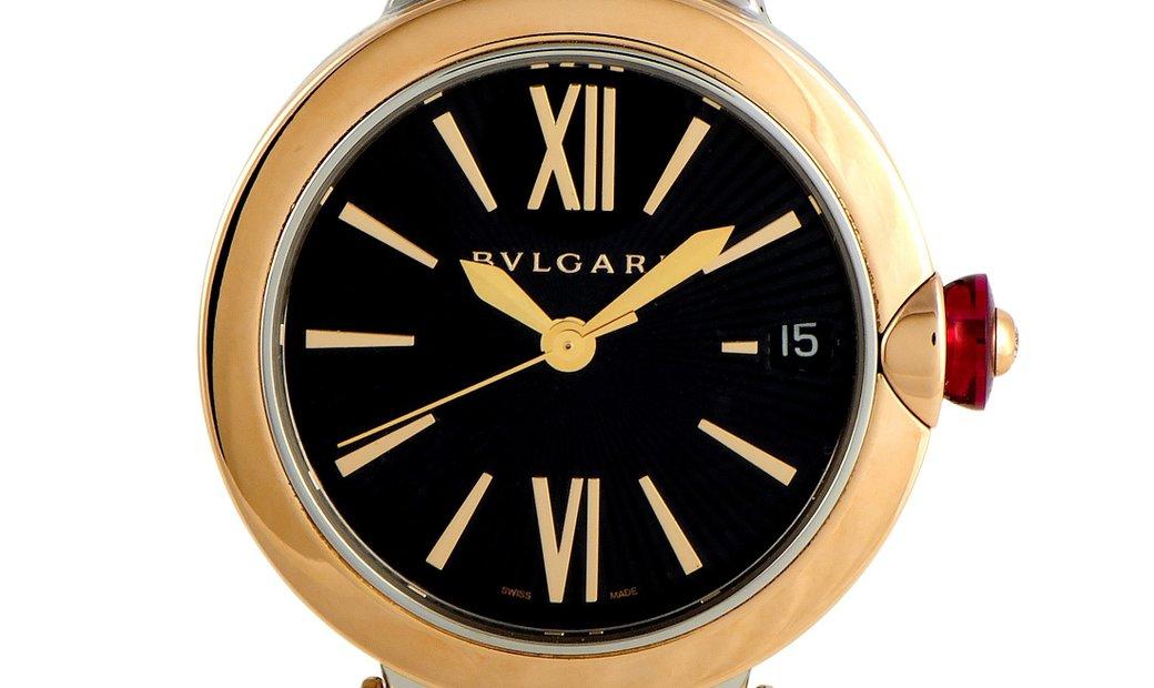 Bvlgari Bvlgari LVCEA Two-Tone Watch 102192LU33BSPGSPGSPGD