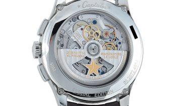Zenith Zenith Captain Winsor Annual Calendar Special Edition Watch 03.2072.4054/01.C711