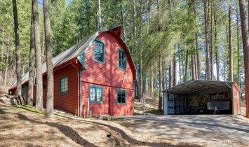 Modern Farmhouse On Acreage