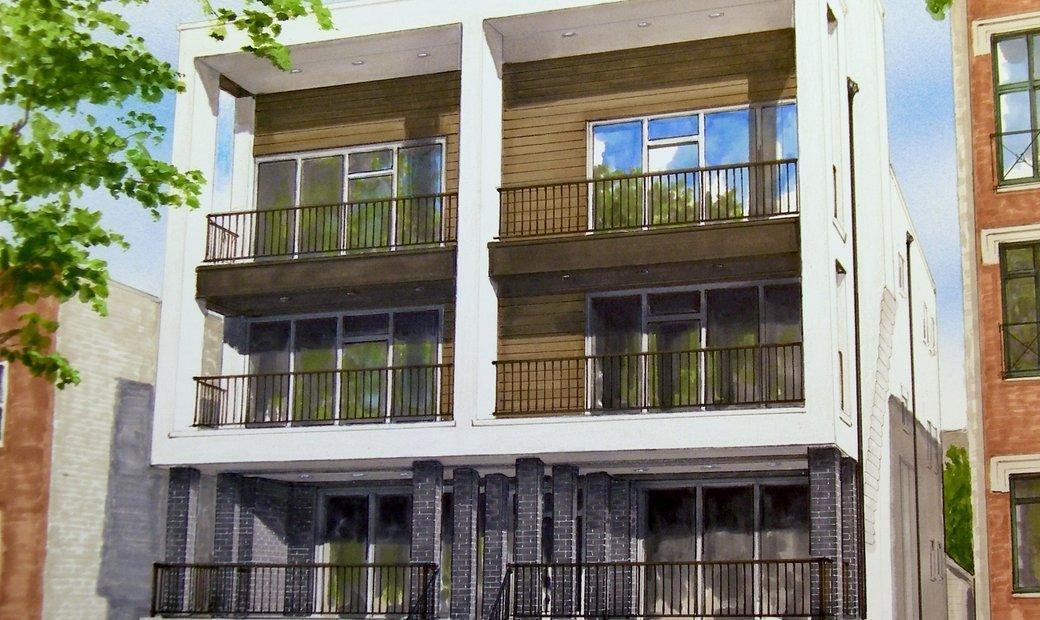 Modern Bucktown Penthouse