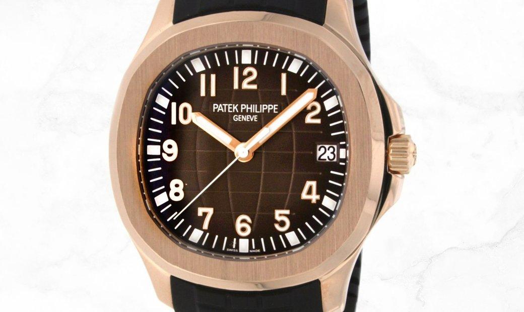 Patek Philippe Aquanaut 5167R Rose Gold