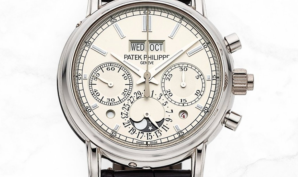 Patek Philippe Grand Complications 5204P White Dial