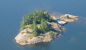 Private Island in Ontario, Canada