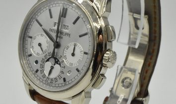 Patek Philippe Perpetual Calendar Chronograph White Gold