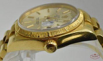Rolex Day-Date President Bark Finish Yellow Gold