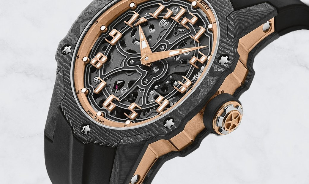Richard Mille RM 33-02 Automatic Extra Thin Rose Gold