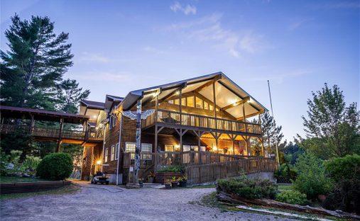 House in Monetville, Ontario, Canada