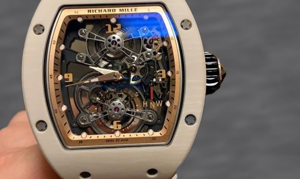 Richard Mille RM 017-01 Tourbillon White
