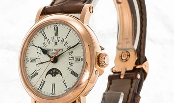 Patek Philippe Grand Complications 5159R-001 Perpetual Calendar with Retrograde Date Hand Rose Gold