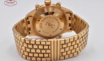 IWC Doppelchronograph 3713 Yellow Gold