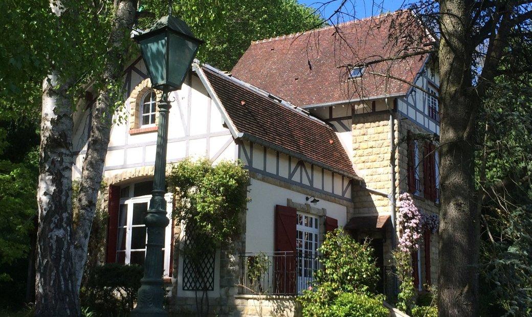 House with garden: LIsle Adam - Rives de l'Oise