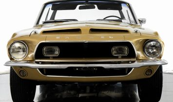1968 Shelby GT500 Convertible 4 Speed Manual