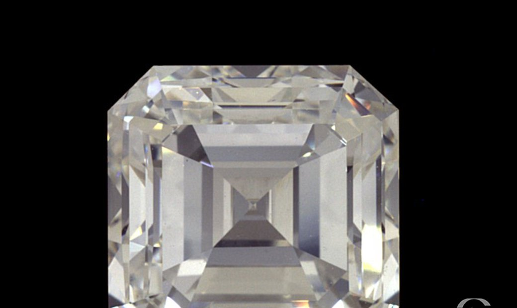 2.26ct F VVS1 Square Emerald Cut Natural Diamond
