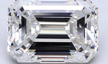 5.01ct F Internally Flawless Emerald Cut Natural Diamond