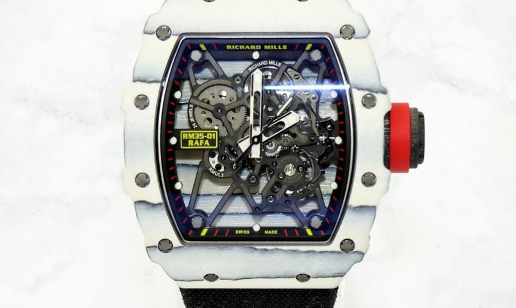 Richard Mille RM 35-01 Rafael Nadal White TPT Carbon Limited Edition
