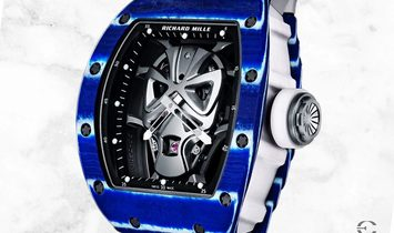 Richard Mille RM 052-06 Tourbillon Mask Blue