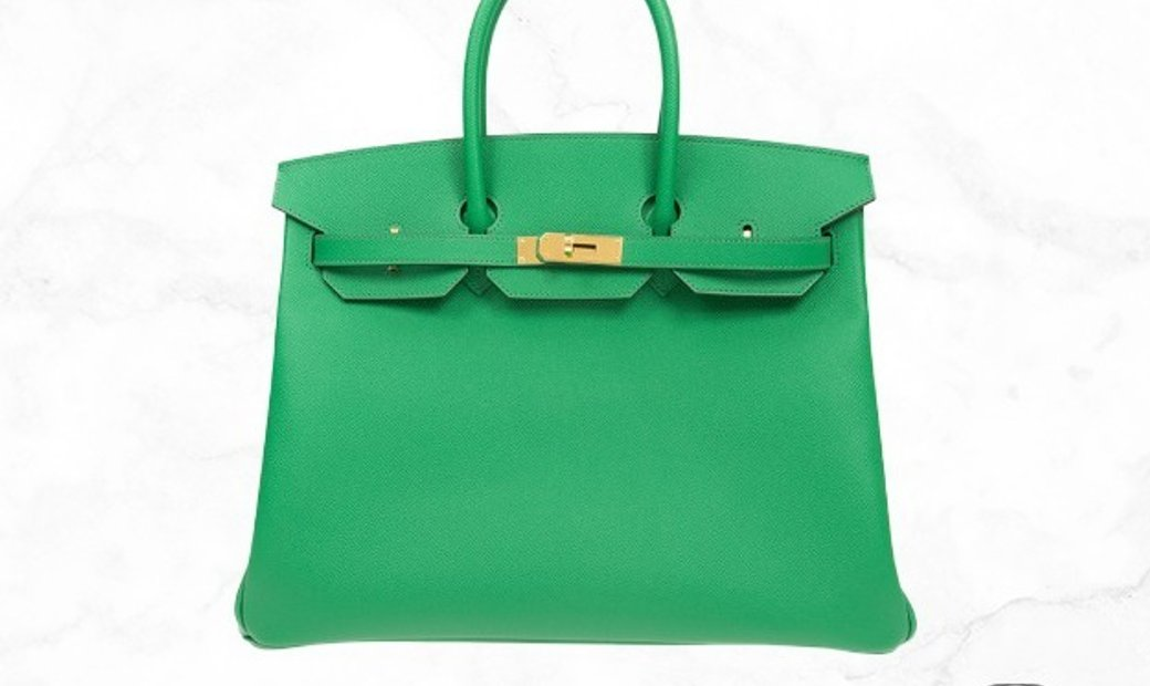 Hermes Birkin 35 Green 1L Epsom Leather