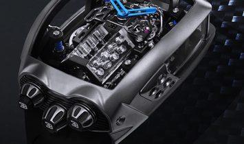 Jacob & Co. 捷克豹 [NEW] Bugatti Chiron 16 Cylinder Tourbillon BU200.20.AA.AC.ABRUA (Retail:US$280,000)
