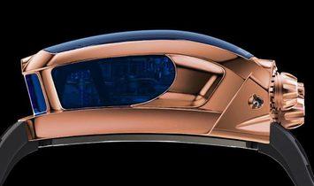 Jacob & Co. 捷克豹 [NEW MODEL] Bugatti Chiron 16 Cylinder Piston Engine Tourbillon Rose Gold Watch
