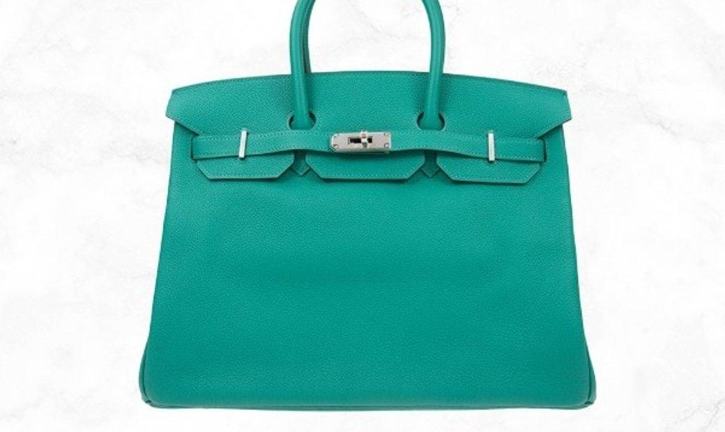 Hermes Birkin 35 Green U1 Togo Leather