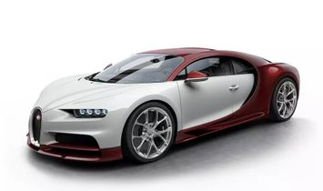 Jacob & Co. 捷克豹 [NEW] Bugatti Chiron 16 Cylinder Piston Engine Tourbillon Ruby