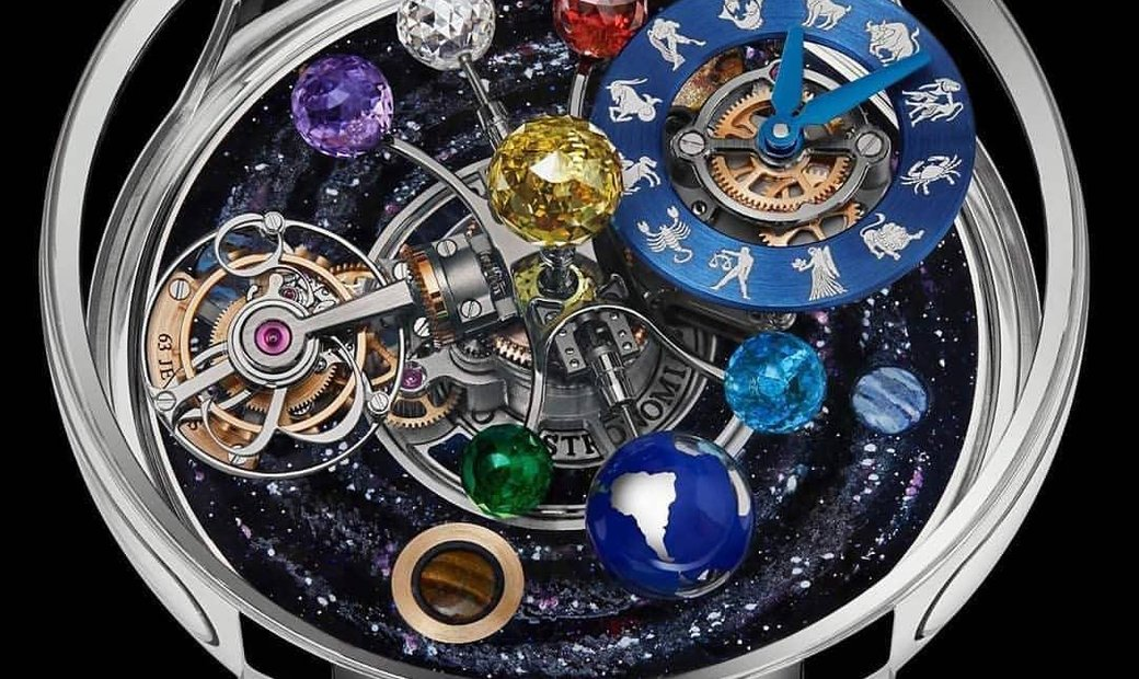 Jacob & Co. 捷克豹 [NEW MODEL] Astronomia Solare Zodiac Mens Watch