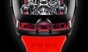 Jacob & Co. 捷克豹 [NEW] Bugatti Chiron Red 16 Cylinder Piston Engine Tourbillon (Retail:US$280,000)